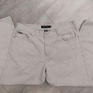 📣2/36$📣 Calvin Klein beige chino jeans pants